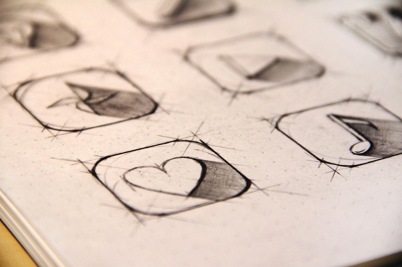 手绘图标icon|ui|图标|靖summer - 原创作品 - 站酷