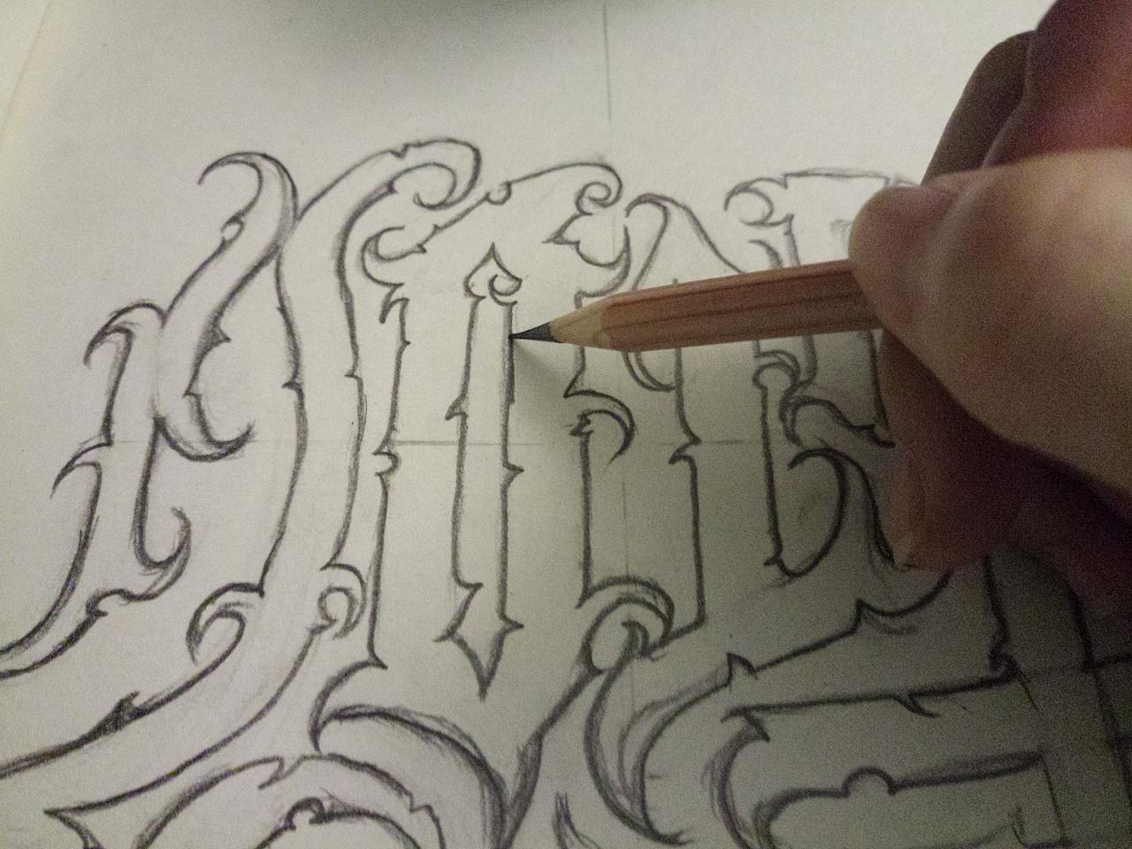 奇卡诺插画|字体|涂鸦/潮流|村口设计店设计师理财分析ui复印图片