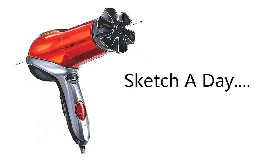 工业设计手绘马克笔表达