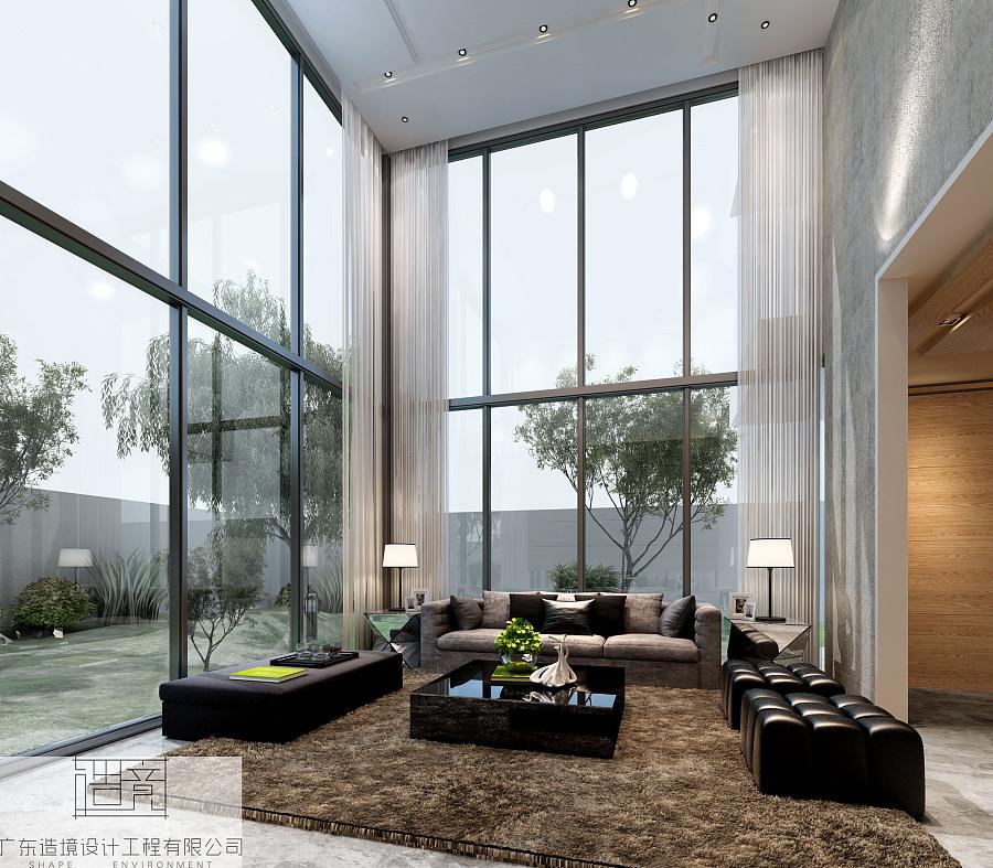 造境设计广雅别墅|室内设计|空间|广东造境设计汉品室内设计图片