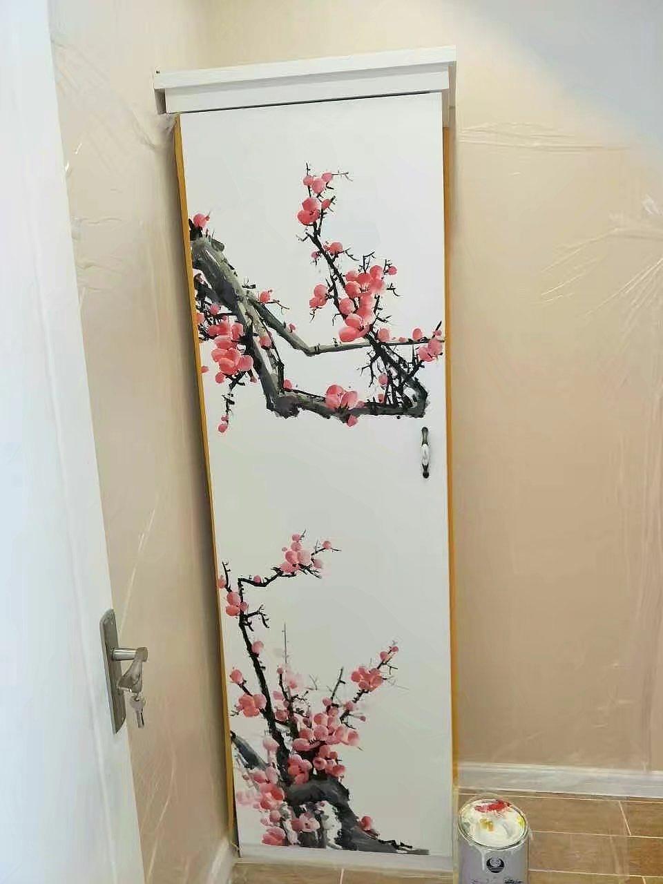 青岛绘美时尚手绘壁画