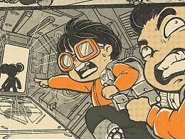 黑猪漫画 × 未来宝贝 - 坏熊猫 PART1