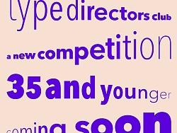 纽约字体艺术指导俱乐部宣布新的比赛,以奖励年轻的设计师