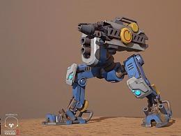 一个小机器人