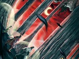 电影《包青天之诡墓空棺》概念海报设计
