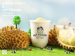 微缩小人的酸奶世界|谷物酸奶饮品拍摄|上海魔摄视觉