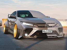 CGI Honda Civic Tommy Concept