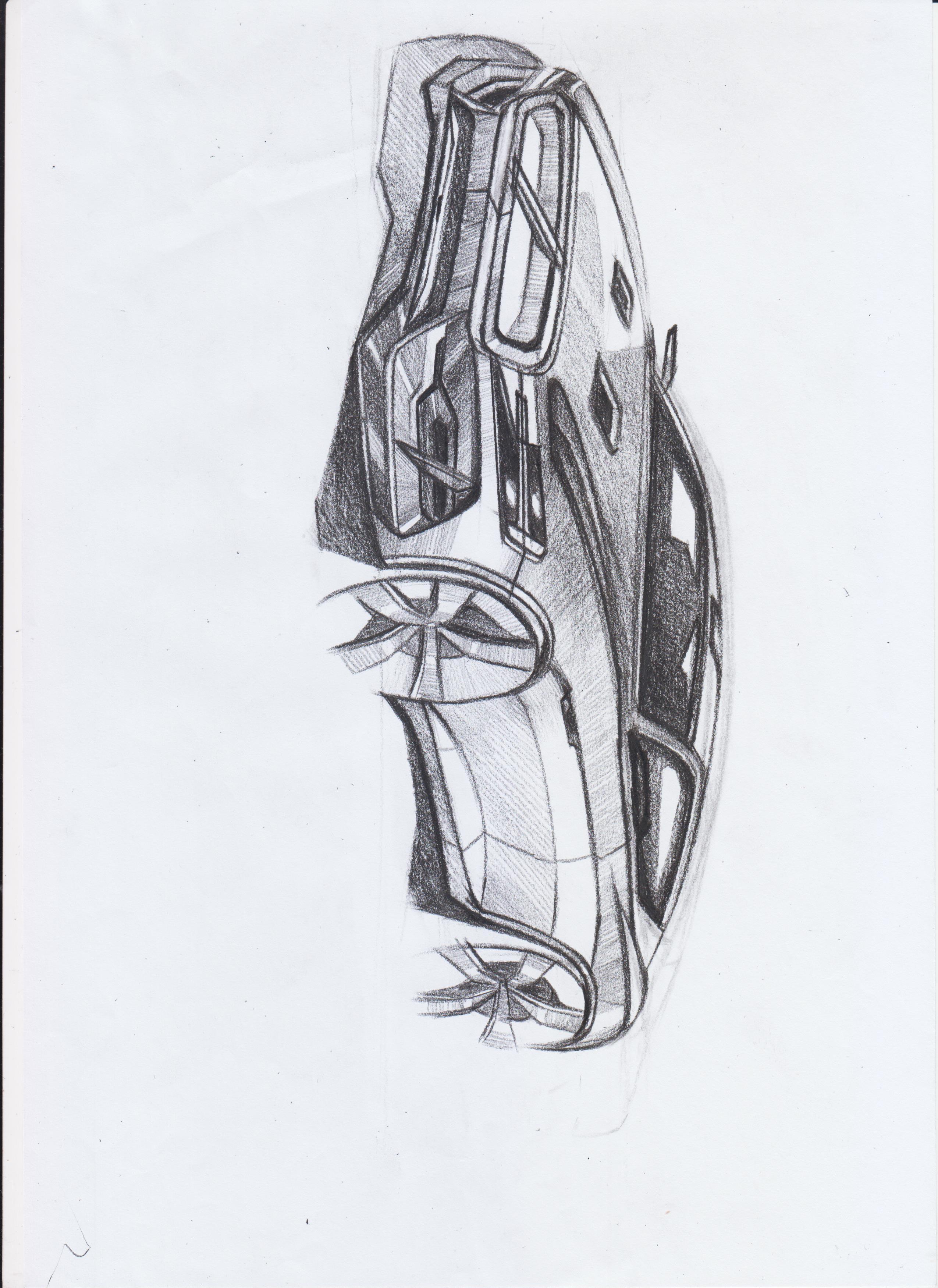 简笔画 手绘 素描 线稿 2550_3501 竖版 竖屏
