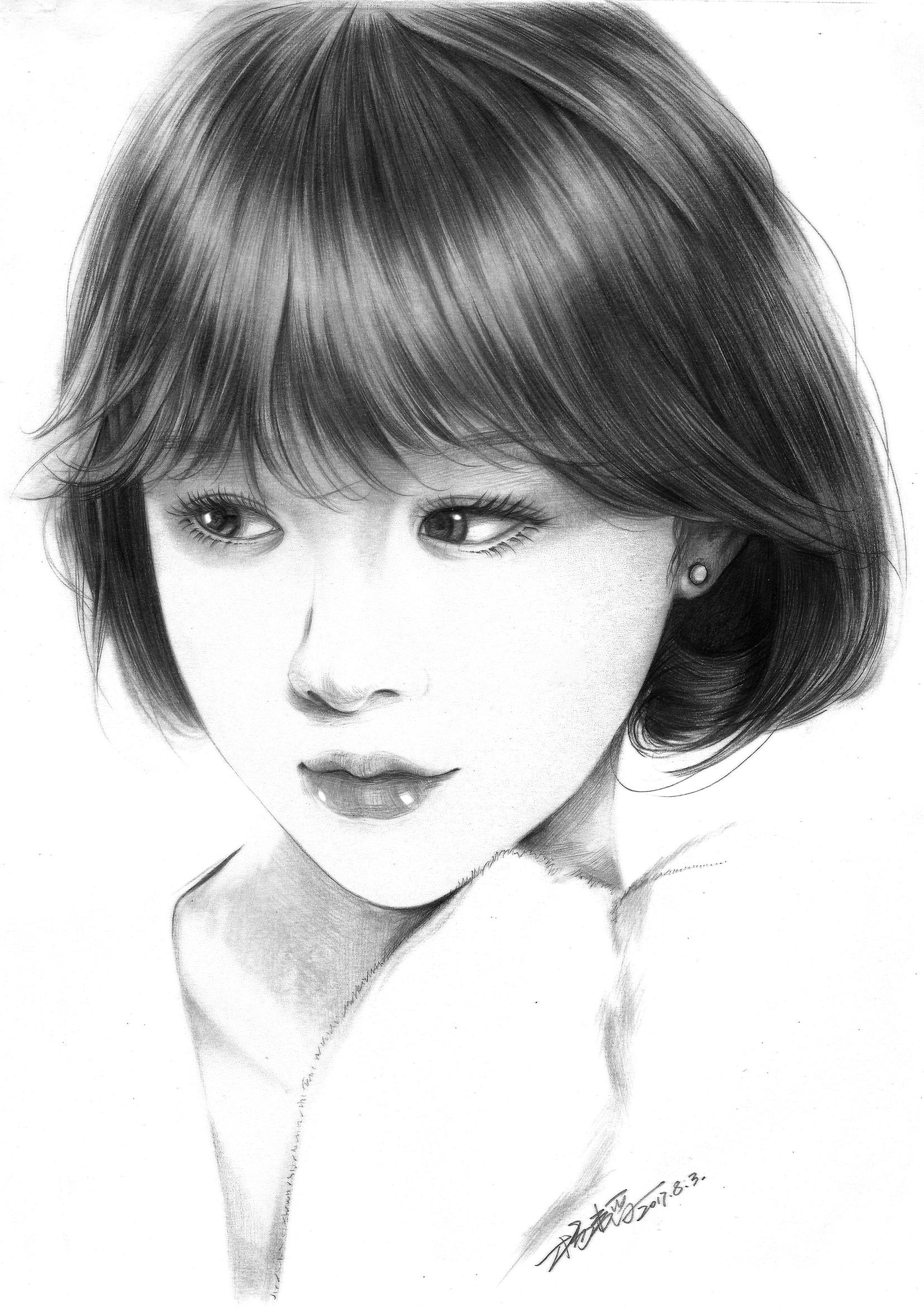 小清新美女一枚 手绘女孩 漫画女孩 手绘美女 美女头像