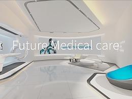 GE Show cace2016-未来医疗Show room