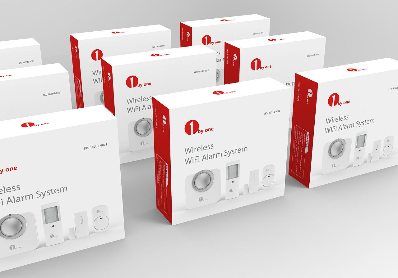 一组电子产品包装