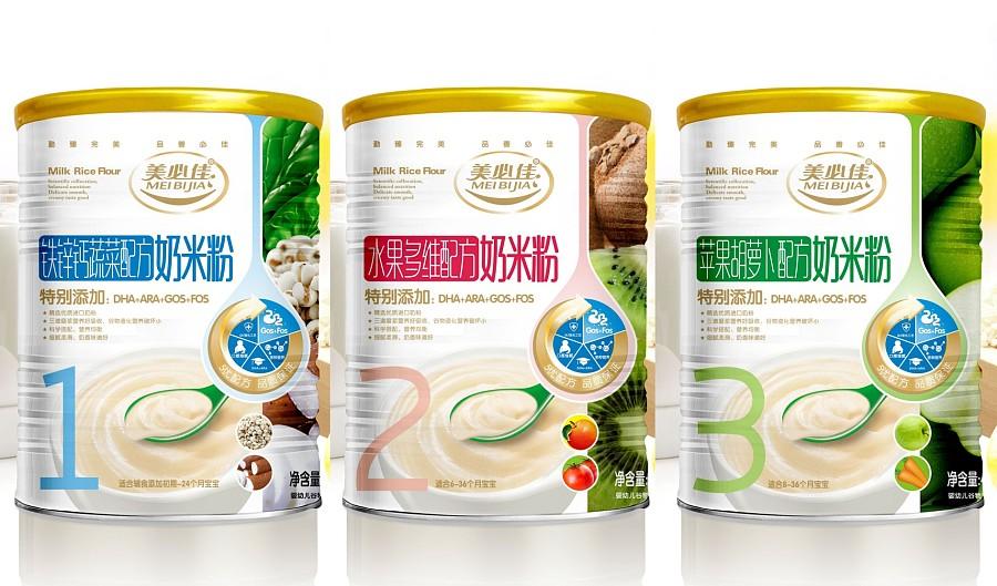 思博堂 婴幼儿食品包装设计 奶粉包装设计 婴儿米粉包装设计 纸尿裤包装设计 婴童品牌设计