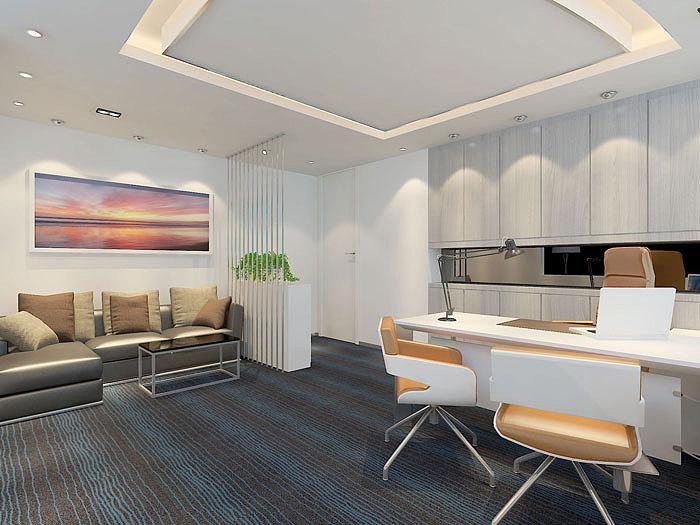 小型办公室装修设计空间效果图|案例|室内设计|办公室v空间新设计媒体图片