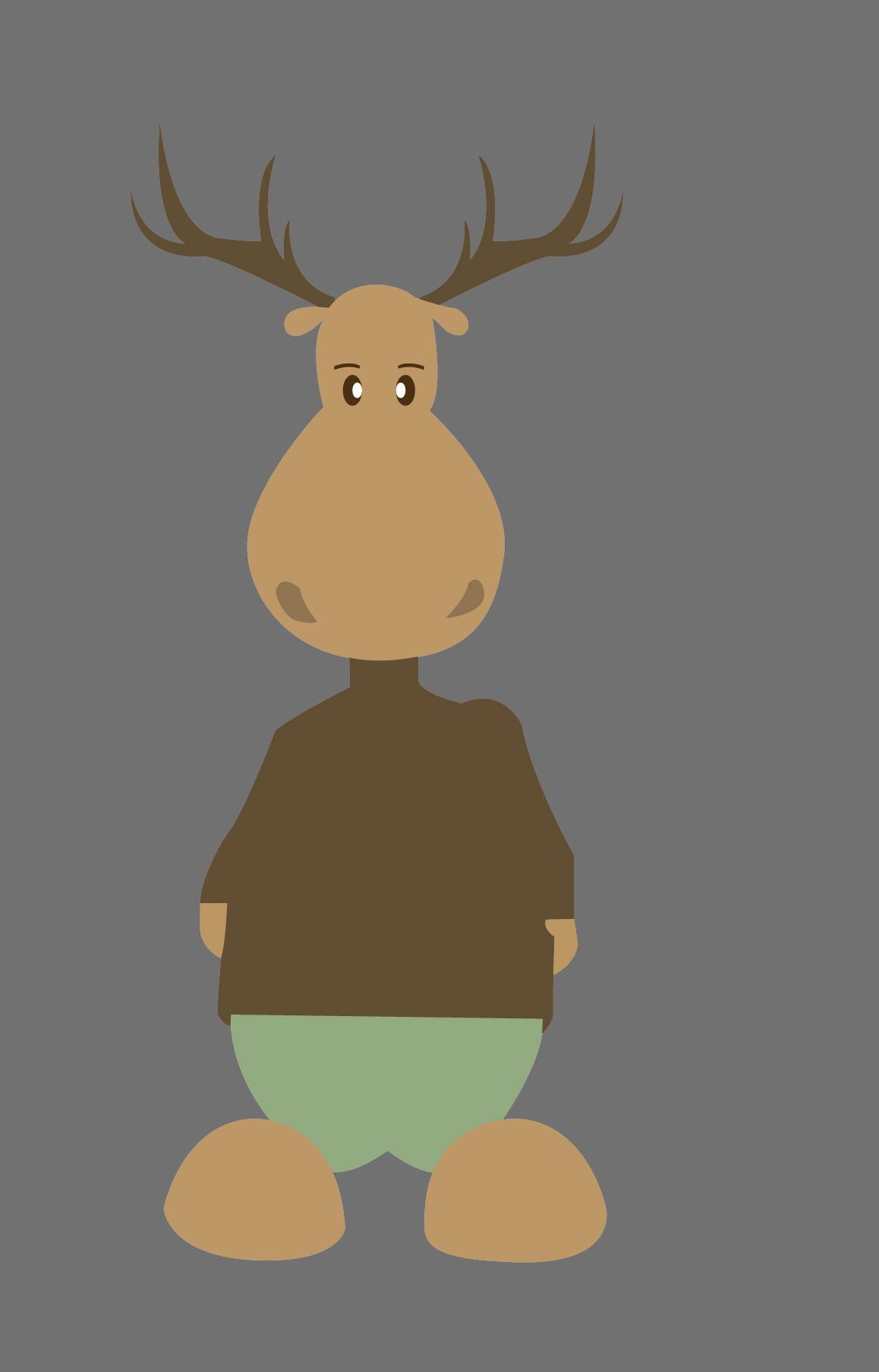 麋鹿凳子钩织图解