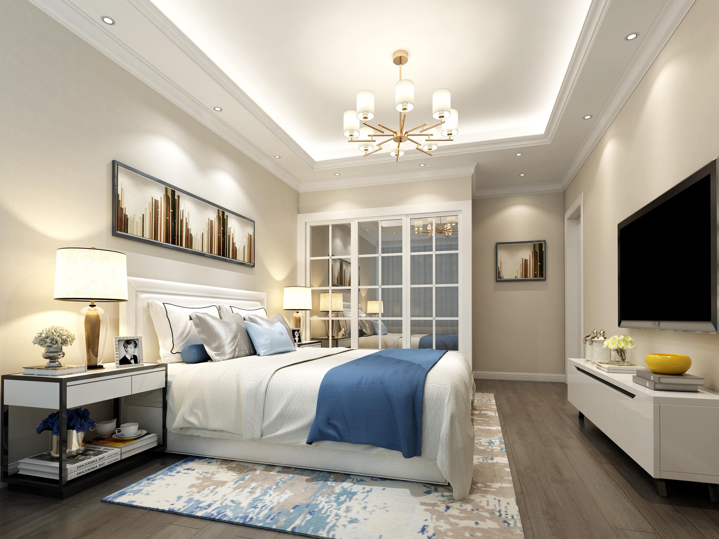现代卧室设计图片
