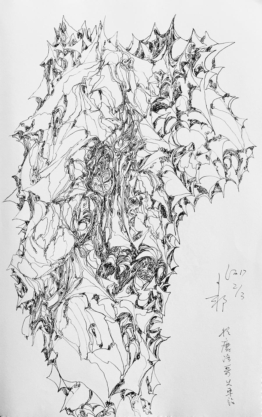 查看《线体日记(2017)》原图,原图尺寸:1957x3110