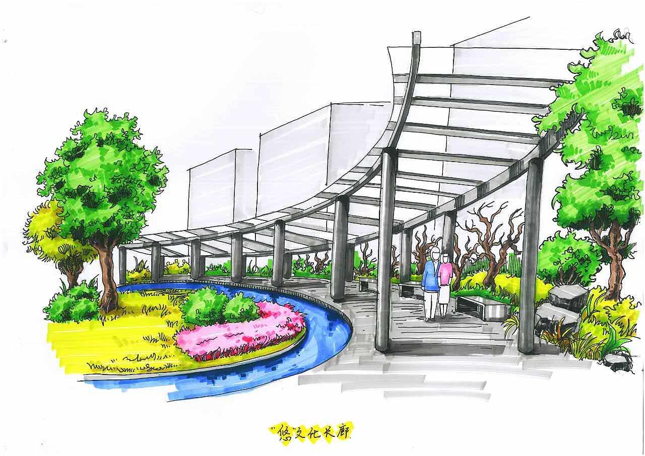 城市景观设计|空间|景观设计|hoipunchui - 临摹作品