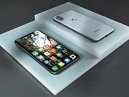 iPhone X   建模  渲染