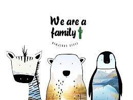 我们是一家人
