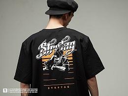 """街头品牌STRETAG® """"Streetwise适者生存3.0"""" T恤"""