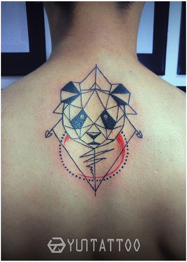 原创情侣熊猫|其他艺创|纯艺术|云刺青tattoo - 原创