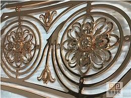 铝板艺术雕刻镂空精美铝艺护栏 欧式铝艺护栏图片