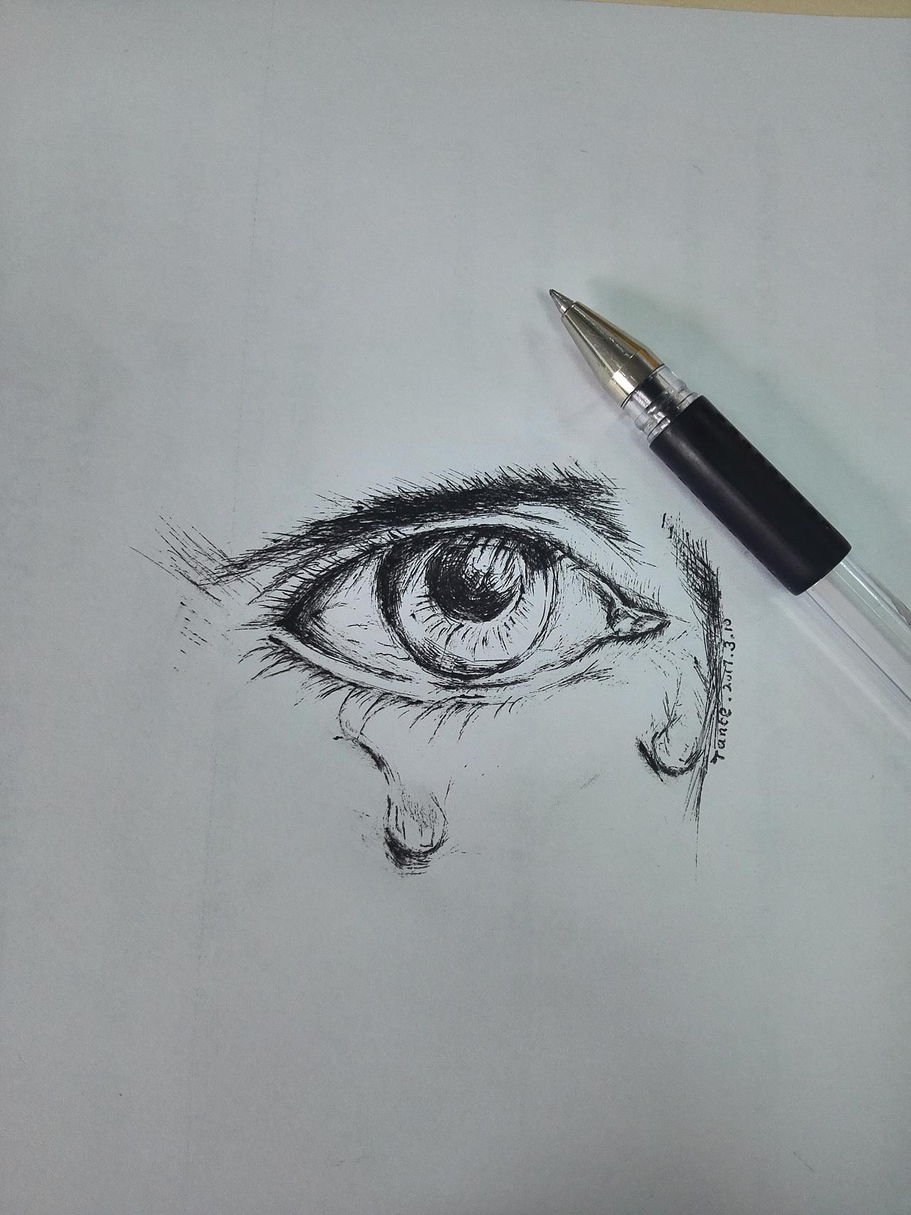 眼睛- 泪