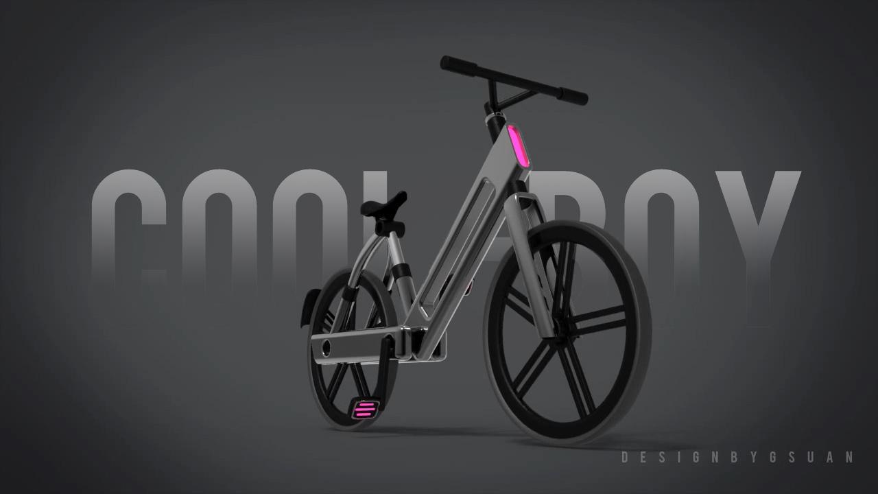 coolboy儿童自行车|工业/产品|交通工具|龚素安
