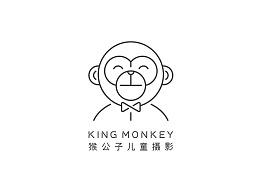 KING MONKEY 猴公子儿童摄影机构 丨 ABD品牌策略设计