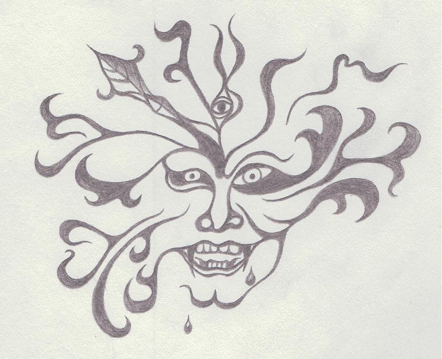 黑白手绘图|绘本|动漫|细雨丿无痕
