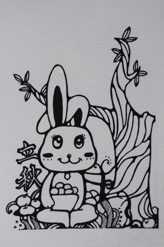 立秋 插画习作 插画 加娜 - 原创设计作品 - 站酷