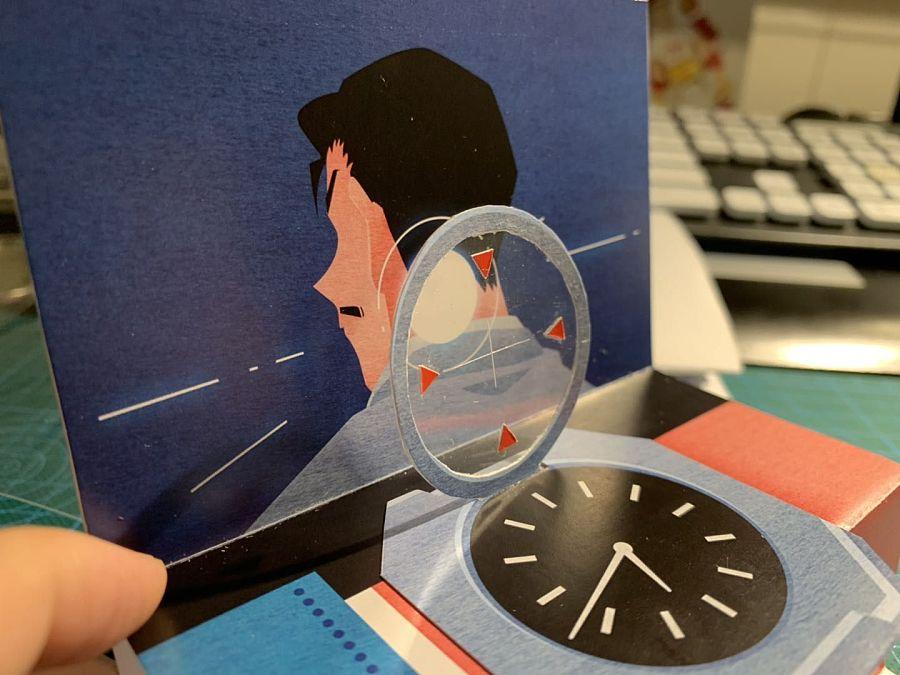 查看《礼品设计-| 名侦探柯南立体贺卡 |》原图,原图尺寸:1440x1080