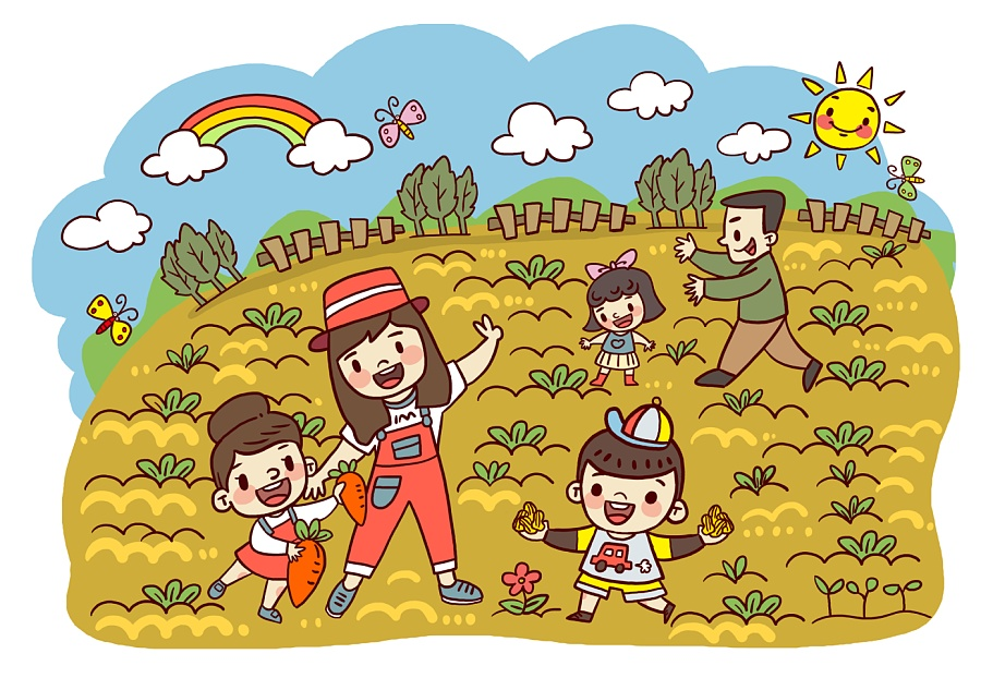 手绘定制幼儿园毕业纪念册图片