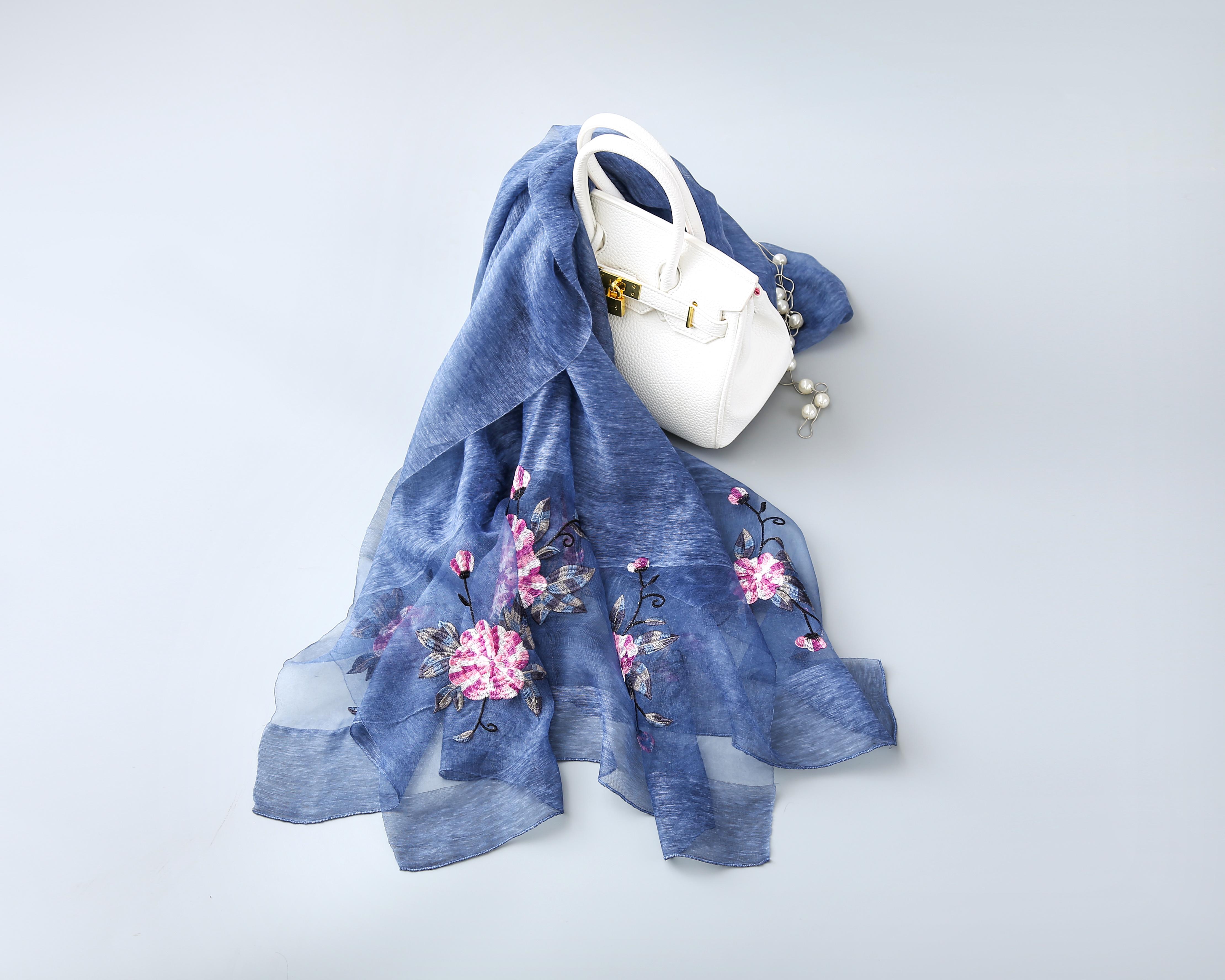 日系丝巾图片