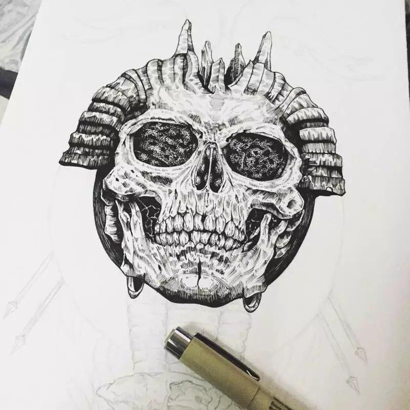 针管笔手绘_针管笔手绘教程