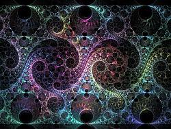 分形 - Mobius的各种变形一组