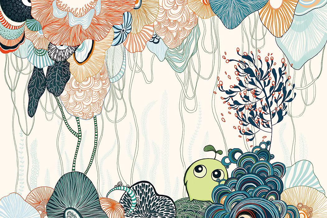 手绘插画|插画|插画习作|夏菲 - 原创作品 - 站酷