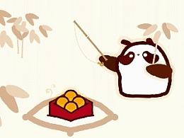 创意动画 | 香港奇华饼家熊猫曲奇饼干 | 三目摄影