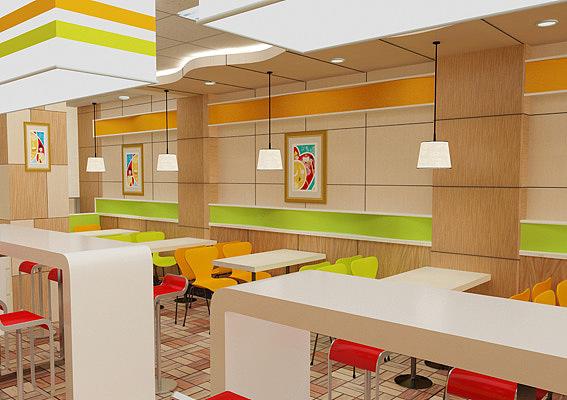 快餐店logo设计,快餐加盟店vi设计,餐饮店装修设计,快餐店标志设计加盟室内装修设计要多少钱图片