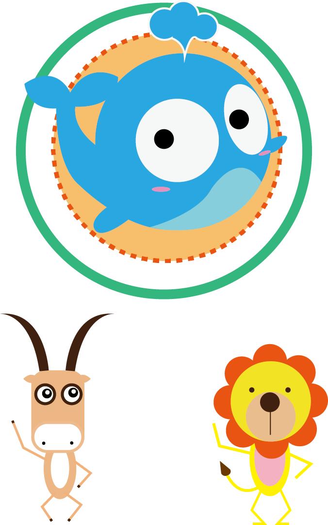 查看《三只小动物》原图,原图尺寸:676x1080