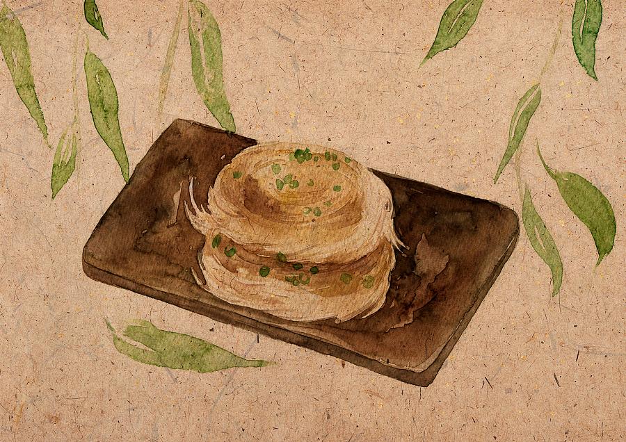 24节气食物手绘|商业插画|插画|山田silvia