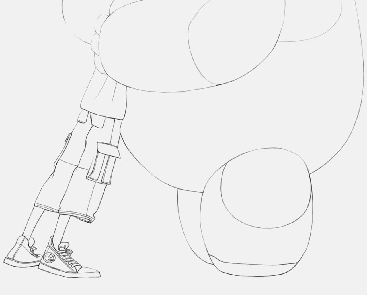 教你ps手绘:迪士尼·超能陆战队