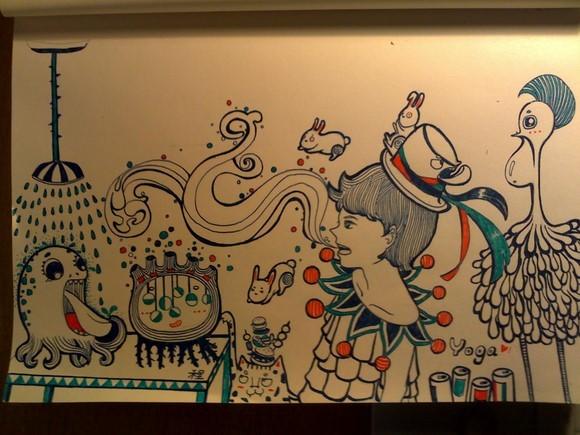 手绘涂鸦|插画|插画习作|程童年 - 原创作品 - 站酷