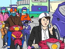 插画:✨越南旅行-3✨