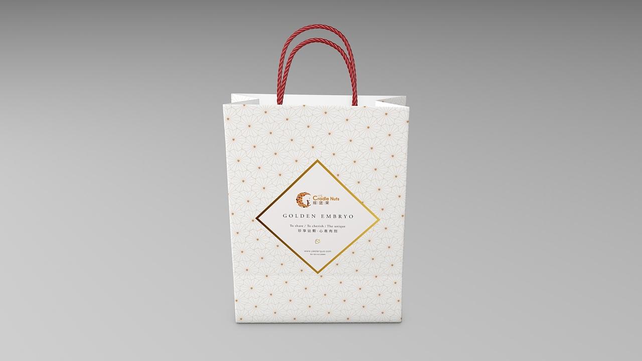 摇篮果 坚果礼盒包装设计