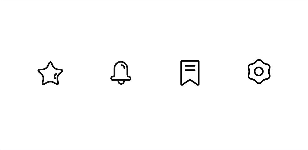资讯图标_资讯APP--图标 UI 图标 ninceer - 原创作品 - 站酷 (ZCOOL)