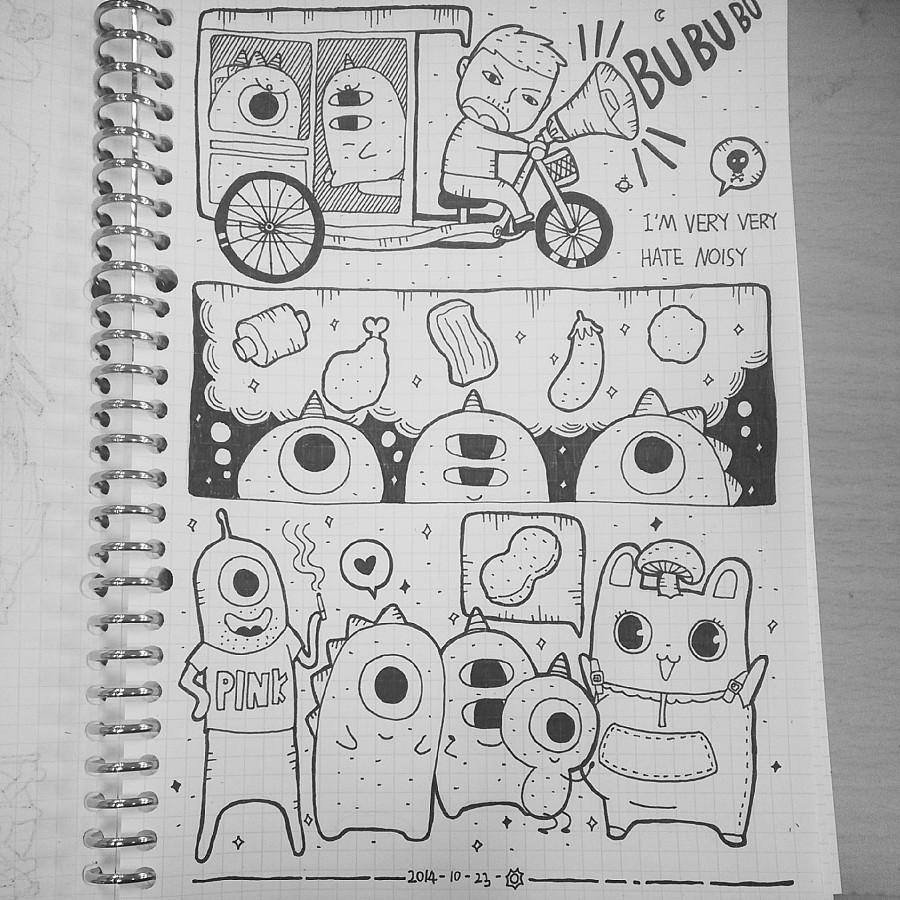 原创作品:手绘日记