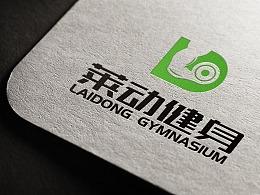 健身房俱乐部标志logo字体VI品牌