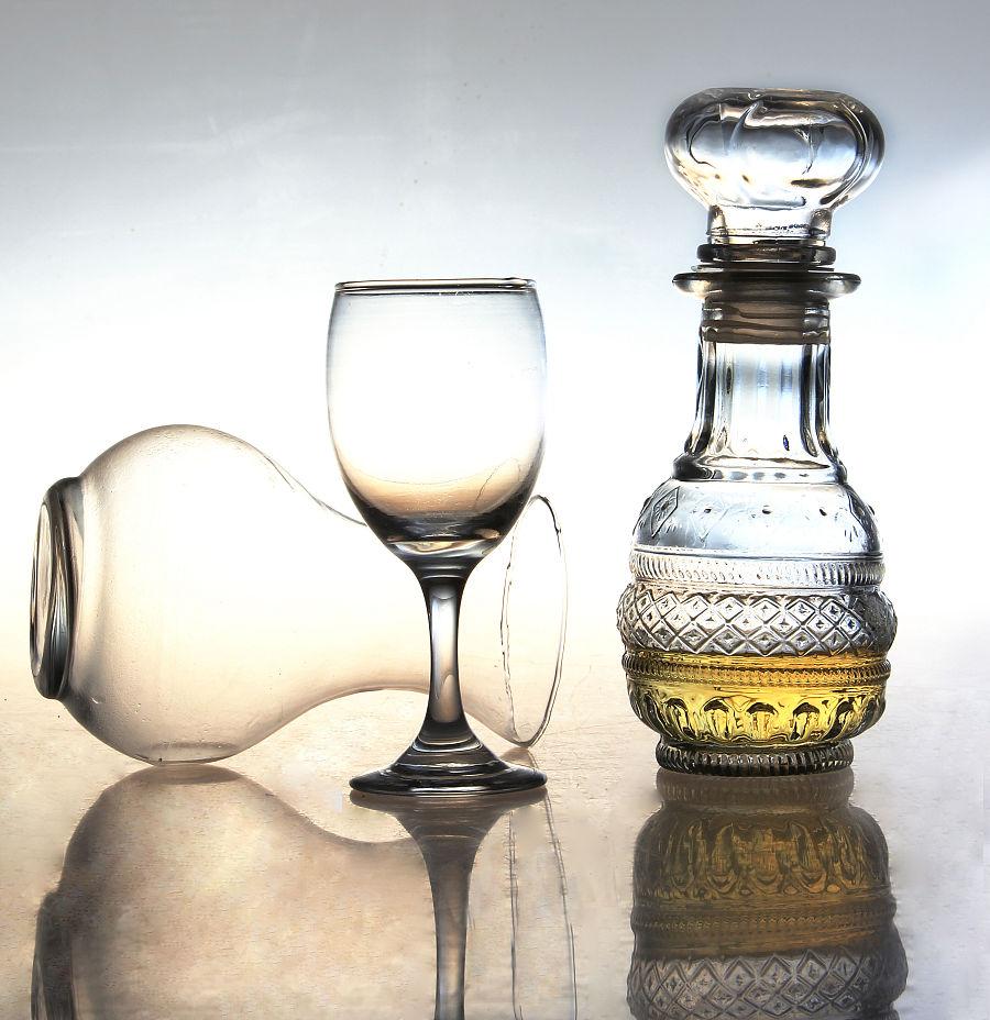 静物摄影 玻璃器皿
