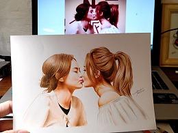 彩铅插画—Twins